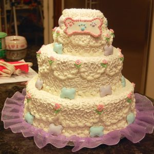 Dog Wedding Cakes & Clothing