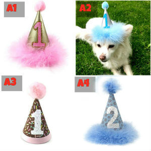 Handmade Dog Cat Birthday Party Hats