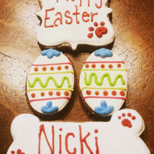 Personalized Easter Dog Treats