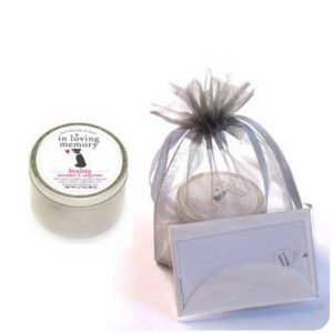 Cat Lovers Memorial Candle Kit