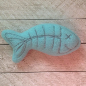 Catnip Cat Toy-Fish Skeleton