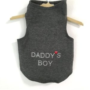 Daddy's Boy Tank by Daisy and Lucy