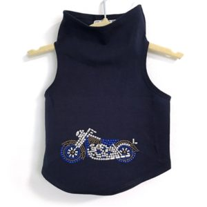 Studded Motorcycle Tank