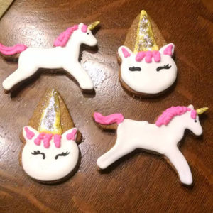 Unicorn dog treats