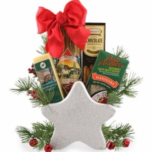 Luxury christmas gift basket