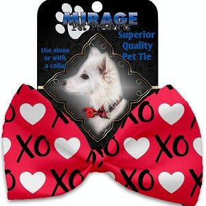 Valentine's Day Dog Bow Ties