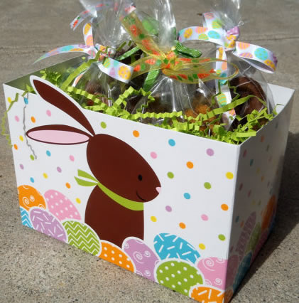 Happy easter gift basket for dogs all natural dog treats organic happy easter gift basket for dogs all natural dog treats organic vegetarianpampered paw gifts negle Image collections
