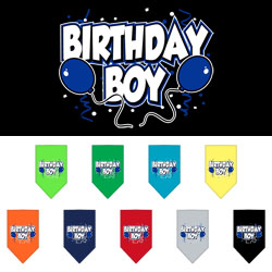 Birthda Boy Dog Bandana