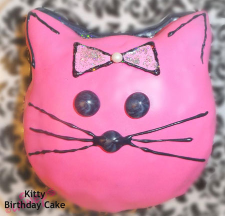 Kitty Birthday Cakes For Cats