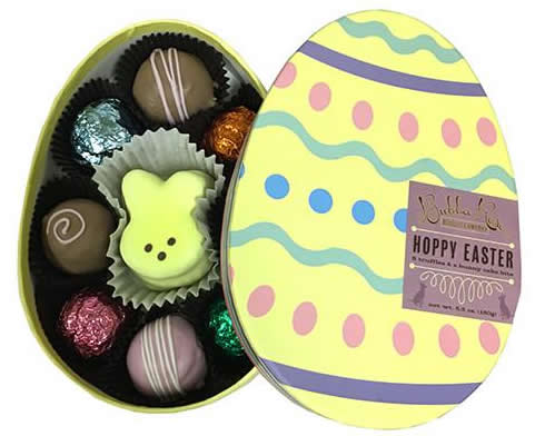 Delish Organic Easter Egg Box  Dog Treats