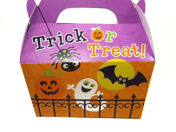 Trick or Treat Box - Gourmet Dog Treats Vegetarian All Natural - Shorty's Gourmet Treats