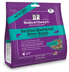 Freeze Dried Sea-Licious Salmon & Cod Cat Dinner