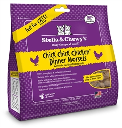 Freeze Dried Chick Chick Chicken Cat Dinner