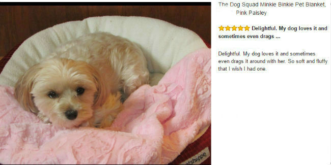Luxury New Puppy Blankets by Dog Squad