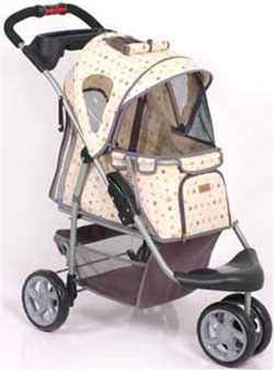 Monogram Pet Stroller- up to 45 lbs