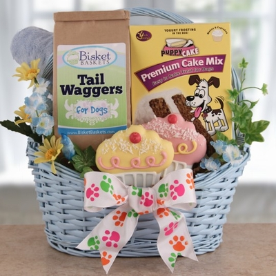 Dog Birthday Gift Baskets Full Of Delicious Treats Jpg 400x400 Gifts Ideas