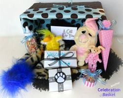 New Puppy Gift Basket at Pampered Paw Gifts