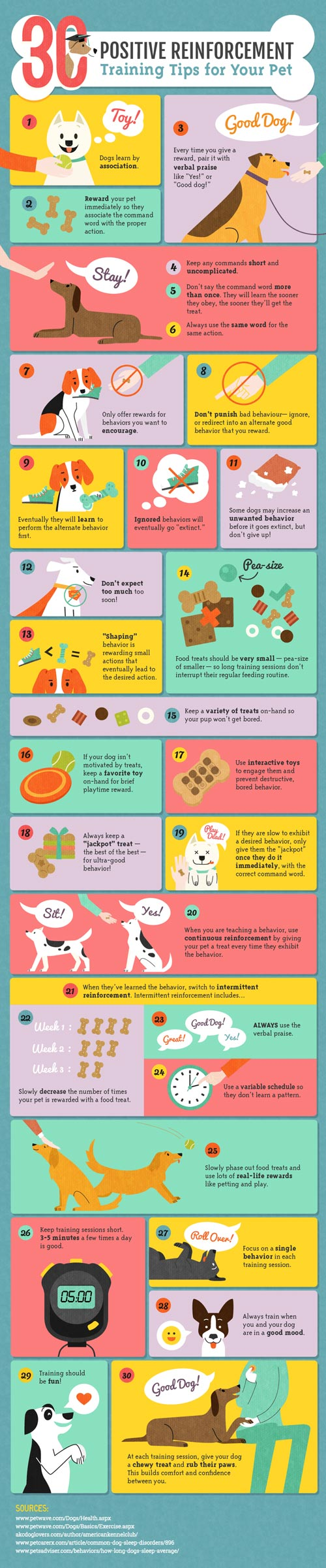 Positive Reinforcement Infographic