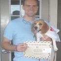 winner of $5 Gift Certificate from pampered paw gifts