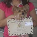 1st Prize: $25 Gift Certificate winner
