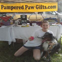 Spay Pasco at Paws in the park winner of our gift basket Dylan