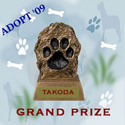 Grand Prize Winner $25.00 pampered paw gifts, gift certificate