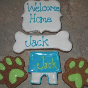 Welcome Home Dog Treats