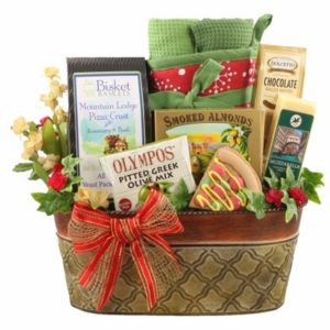 Pizza For Two Dog & Owner Gift Basket