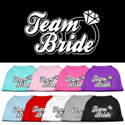 Team Bride Dog Tee