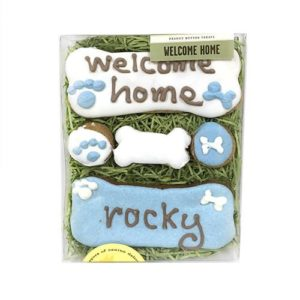 Organic Welcome Home Treats Gift Sets for Dogs