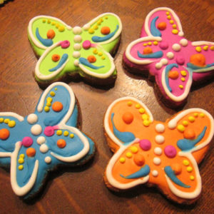 butterfly dog treats
