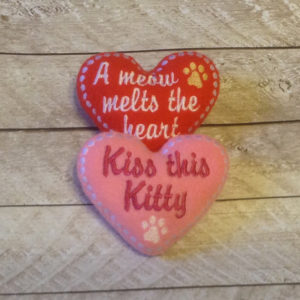 Valentine Cat Toys