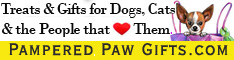 pampered paw gifts banner