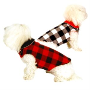 Buffalo Plaid Fleece Coat