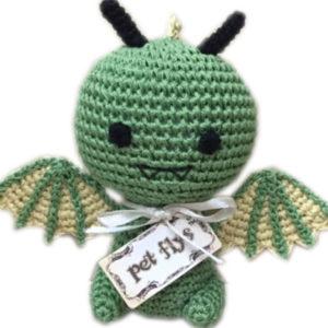 Dragon Organic Cotton Small Dog Toy