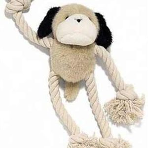 Ethical Pet Dog Plush & Rope Dog Toy
