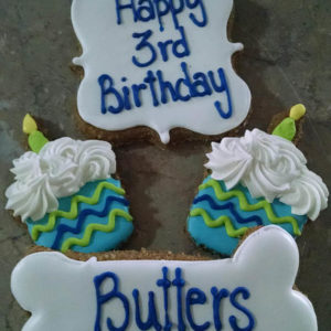 Personalized Birthday Dog Treats
