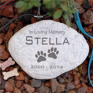 Sympathy Pet Garden Stone