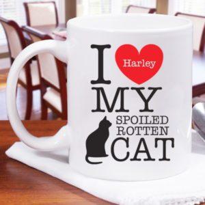 harley cat mug