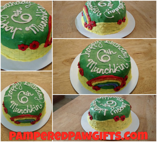 Organic Over the Rainbow Birthday Cake For Dogs | Pampered Paw Gifts
