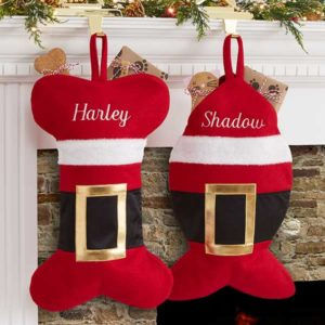 af32f913485 Santa Belt Personalized Pet Christmas Stocking.  29.99 Select options · Embroidered  Paw ...