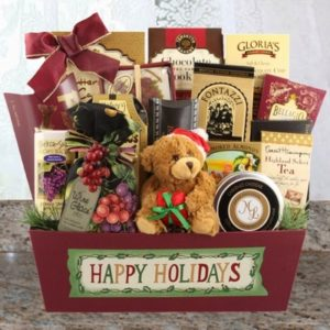 Luxury Christmas Baskets For People