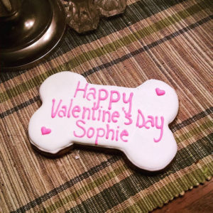 Extra Large Personalized Valentine's Day Bone