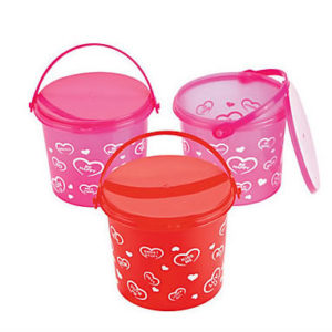 Valentine Pail of love