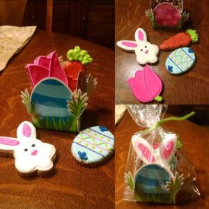 Easter dog treats Bunny Easter Bunny gift basket