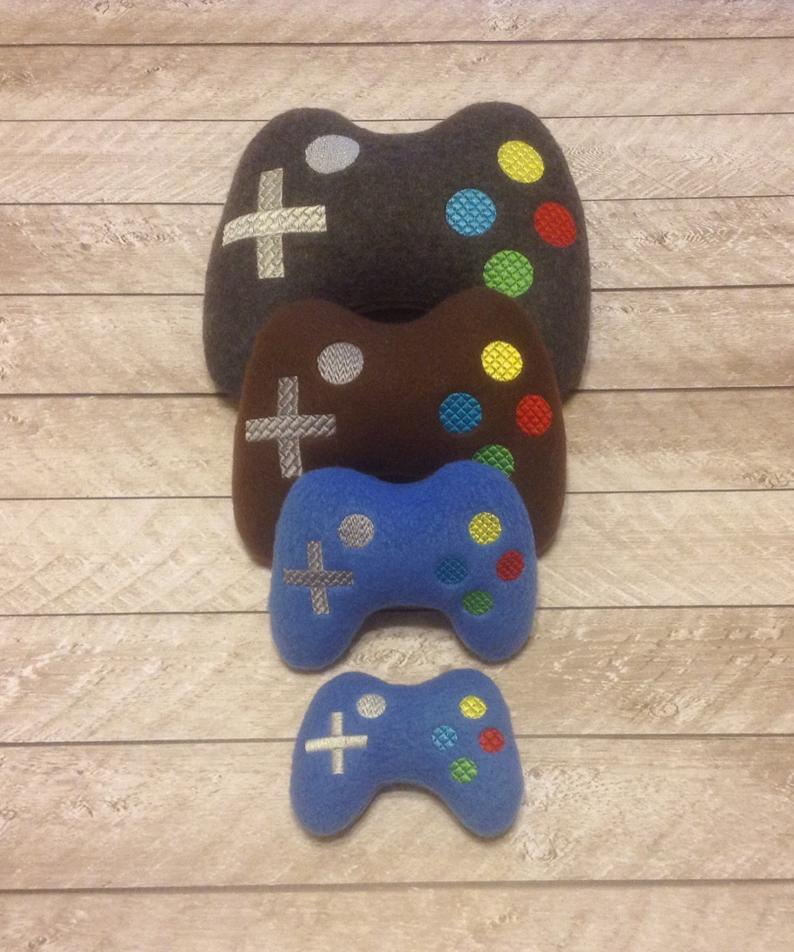 Game Controller Squeaky Dog Toy Made In the USA | Pampered