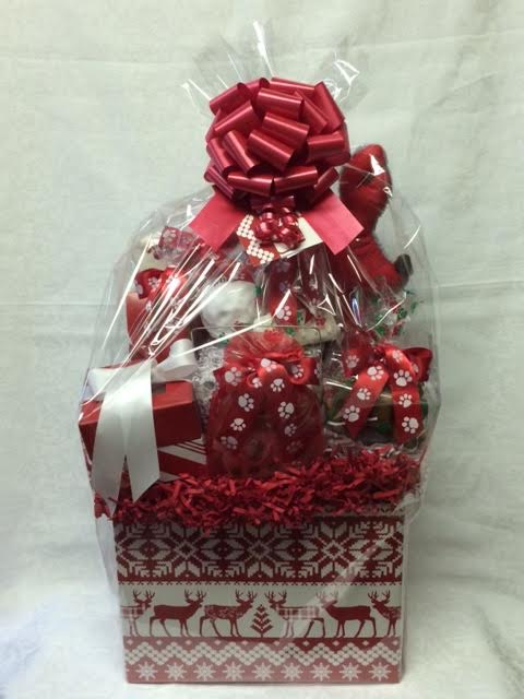 Bow WOW! Luxury Christmas Dog Gift Basket -Big Sky ...