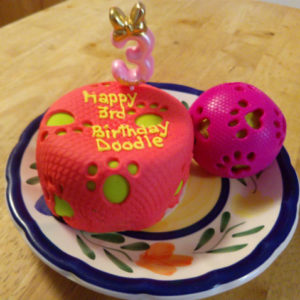Excellent Easy Dog Birthday Cake Recipe Pampered Paw Gifts Personalised Birthday Cards Arneslily Jamesorg